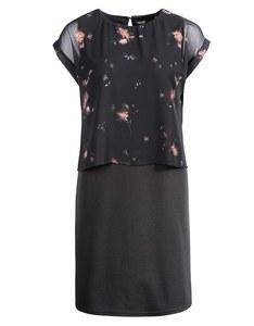 Viventy - Chiffon-Jersey-Kleid im Lagenlook