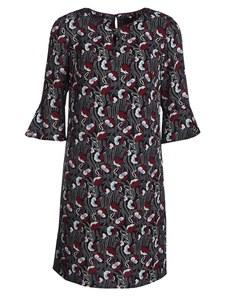Steilmann - Kleid mit stilisierten Blumen