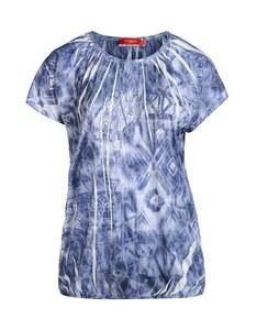 THEA - Shirt mit Rundhals und überschnittener Schulter