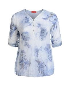 THEA - Chiffon-Bluse mit Alloverdruck