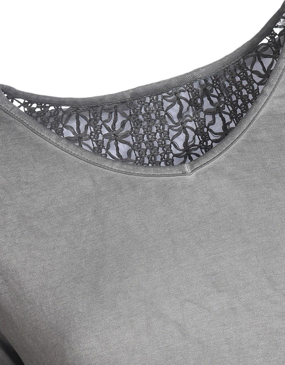 Bild 3 von My Own - Shirt mit Spitzeneinsatz