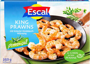 ESCAL  							King Prawns Provencal oder Natur