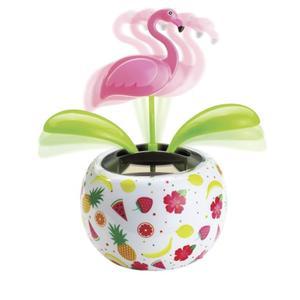 IDEENWELT Solar-Gute-Laune-Figur Flamingo