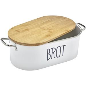 IDEENWELT Brotbox mit Krümelbrett