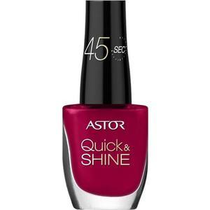 Astor Quick & Shine Nagellack, Fb. 542 - Playful Red