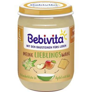 Bebivita Meine Lieblingswahl Holunderblüte in Apfel mit 0.42 EUR/100 g (6 x 190.00g)