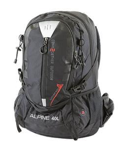 ALPINE Trekkingrucksack 40 Liter schwarz