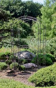 Garden Pleasure Pforte mit Rosenbogen