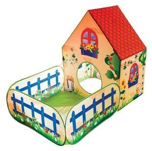 VEDES Outdoor active Pop-up Spielhaus mit Bällebad, (ohne Bälle)