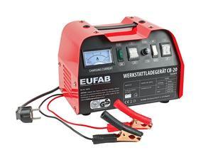 EUFAB Werkstattladegerät 12/24V 18/12A CB-20