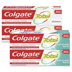 Colgate Zahncreme Total versch. Sorten, jede 2x75-ml-Doppelpackung