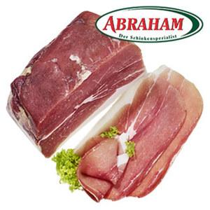 Abraham Kernschinken geräuchert oder luftgetrocknet, je 100 g