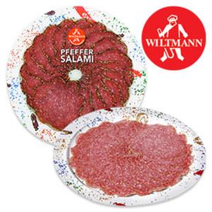 Wiltmann Feinschmecker Salami, Geflügel Salami oder Pfeffer Salami jede 80-g-SB-Packung