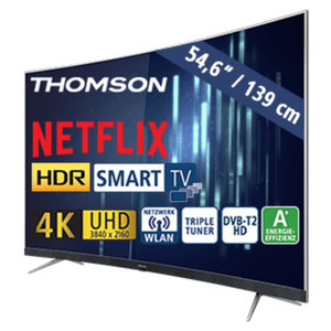 "55""-Curved-Ultra-HD-LED-TV 55UD6696 HbbTV, 3 HDMI-/2 USB-Anschlüsse, CI+, Stand-by: 0,17 Watt, Betrieb: 86 Watt, Maße: H 73,9 x B 123,0 x T 9,4 cm, Energie-Effizienz A+ (Spektrum A++ bis E)"