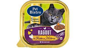 Pet Bistro Katzennassfutter Gaumenschmaus - Ragout mit Huhn und Möhren