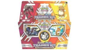 Pokémon Sammelkartenspiel - Trainer Kit - Sonne und Mond - Raichu und Wolwerock