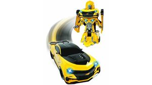 Dickie - Transformers The Last Knight Robot Fighter Bumblebee