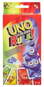 UNO Colors Rule mit Super-Jokern! (inkl. 4 Kartenhalter). DWV64