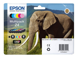 Epson C13T24284010 Druckerpatrone 24 (6 Farben) Multipack