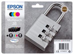 Epson 35 Multipack - 4er-Pack - Schwarz, Gelb, Cyan, Magenta - Original - Blisterverpackung - Tintenpatrone
