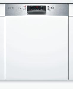 Bosch Geschirrspüler SMI46IS14E, teilintegriert, Edelstahl, 60cm, SuperSilence Geschirrspüler, Energieklasse A+++