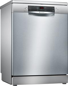 Bosch Geschirrspueler SMS46II14E, Stand - Silver Inox, 60cm, SuperSilence Geschirrspüler, Energieklasse A+++