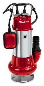 Einhell Schmutzwasserpumpe GC-DP 1340 G, Leistung 1300 Watt, Fördermenge max. 23000 l/h, Förderhöhe max. 10 m, Fremdkörper bis Ø 40 mm, 4170742