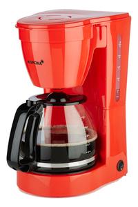 Korona Filterkaffeemaschine 1,5 l für gemahlenen Kaffee, 800 W, Farbe Rot
