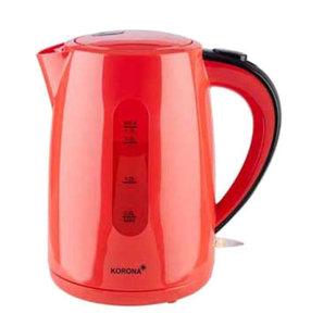 Korona Wasserkocher 1,7 Liter, Farbe Rot