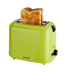 Korona Toaster mit 2 Schlitzen 760 W, mit Auftau-Funktion