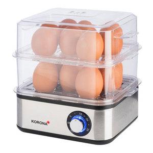 Korona 25303 Eierkocher mit Dampfgarfunktion