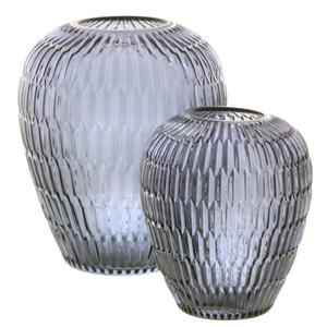 Dragimex, Vase, blau, 17 Ø x 20 cm H, 62110