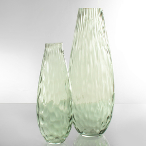Dragimex, Vase, grün, 11 x 29 cm H, 63480