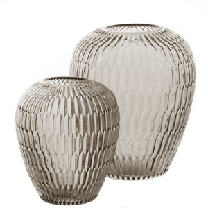 Dragimex, Vase, braun, 17 Ø x 20 cm H, 62114
