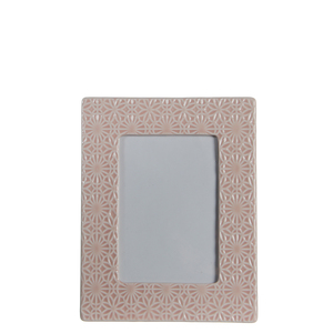 Mica Decorations Paddle Bilderrahmen rosa - l23,5xb18,5cm; 1044044