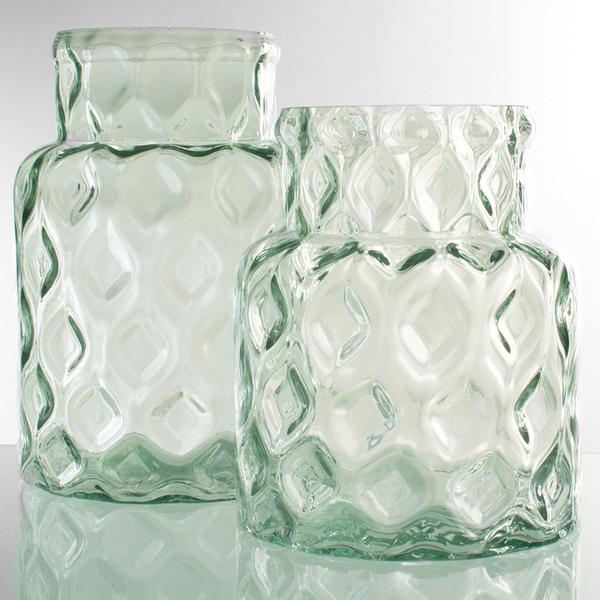 Dragimex, Windlicht, grün, 17 x 25 cm H, 63487
