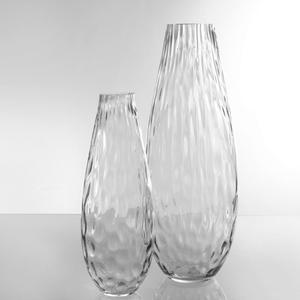 Dragimex, Vase, grau, 14 x 39 cm H, 63479