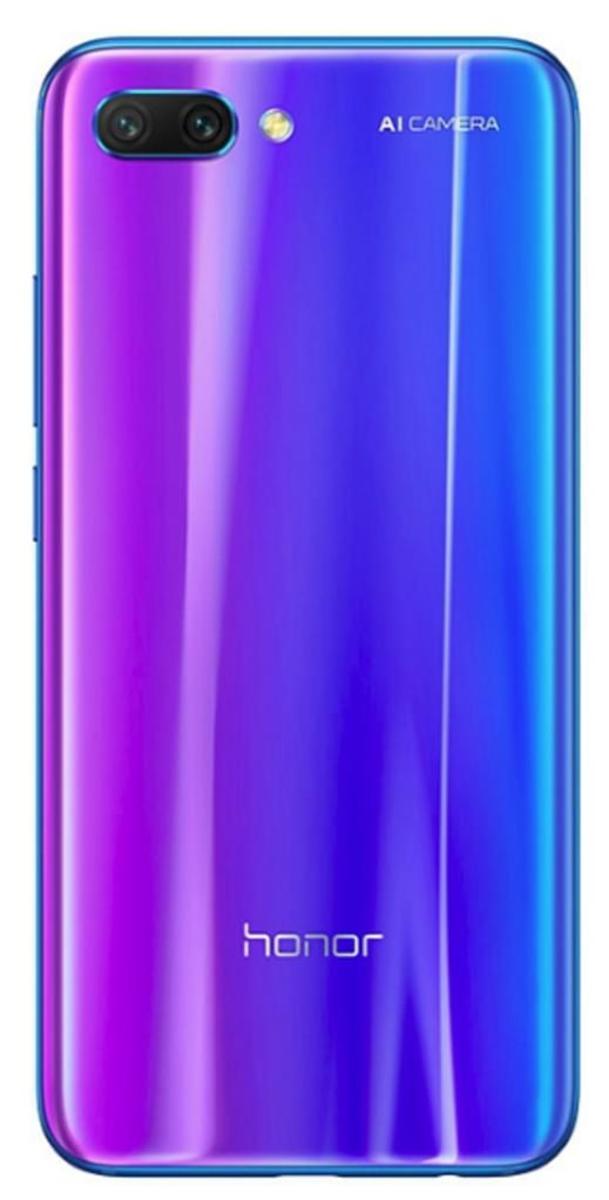 Bild 2 von Huawei Honor 10 128 GB Smartphone - Blau - 14,8 cm (5,8 Zoll) LTPS LCD 2280 x 1080 Full HD Plus Touchscreen - 4 GB RAM - 4G - Kirin 970 - 24 Megapixel Rückseite/24 Megapixel Vorderseite - Android 8.