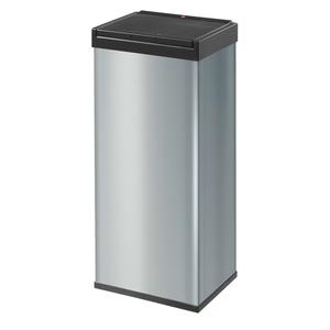 Hailo Abfalleimer Big-Box Touch 60, 60 Liter, silber; 860601