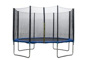 Gartentrampolin-Set inkl. Sicherheitsnetz außen Ø 366cm
