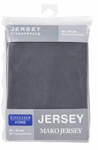 Edel Jersey Kopfkissenbezüge 40x40 - versch. Farben