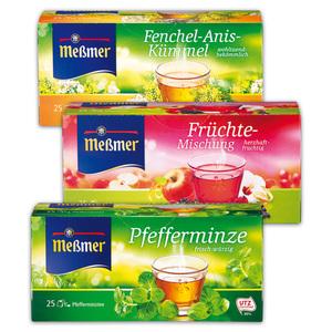 Meßmer Kräuter-/ Früchtetee