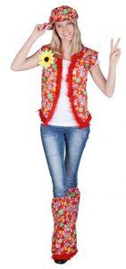 Kostüm - Hippie - für Erwachsene - 4-teilig