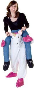 Huckepack-Kostüm - Einhorn - für Erwachsene