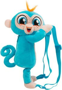 Fingerlings Kinderrucksack - Plüsch - blau