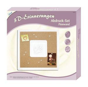 3D-Erinnerungen Abdruck-Set - Pinnwand
