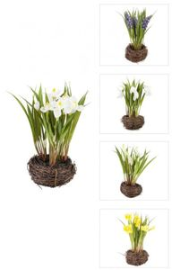 Frühlingsblüher - aus Kunststoff - 20 cm - 1 Stück