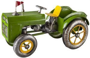 Pflanzgefäß - Traktor - aus Metall - 45,5 x 21,5 x 26 cm