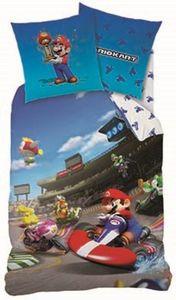 Bettwäsche - Mario Kart - Decke 135 x 200 cm, Kissen 80 x 80 cm
