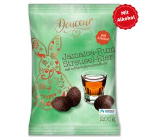 DOUCEUR Jamaica-Rum-Streusel-Eier